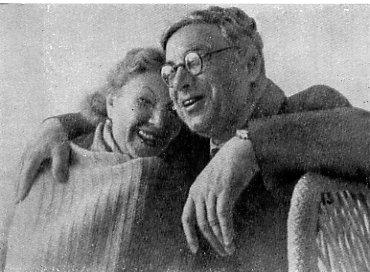 Берта Сельвинская с мужем